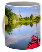 Fishing On The Lake Coffee Mug