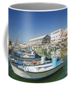 Fishing Port In Jaffa Tel Aviv Israel Coffee Mug