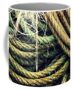 Fishing Rope Textures Coffee Mug