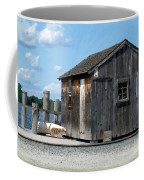 Fishing Shack On The Mystic River Coffee Mug
