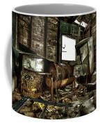 Fishing Shack Posterized Coffee Mug