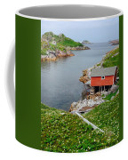 Fishing Stage Little Fogo Island Newfoundland Coffee Mug