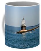 Fishing The Breakwater Coffee Mug