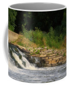 Fishing The Spillway Coffee Mug