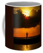 Fishing The Sun Coffee Mug