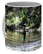 Fishing The Wissahickon Coffee Mug