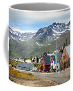 Fishing Village In Iceland Coffee Mug