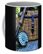 Fishing - Vintage Fly Fishing Coffee Mug