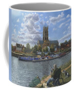 Fishing With Oscar - Doncaster Minster Coffee Mug