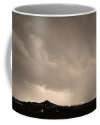 Fist Bump Of Power Sepia Coffee Mug by James BO  Insogna