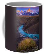 Fitz Roy Dawn   Coffee Mug