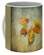 Five Autumn Leaves Coffee Mug