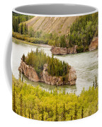 Five Finger Rapids Of Yukon River Yukon T Canada Coffee Mug