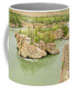 Five Finger Rapids Rocks Yukon River Yt Canada Coffee Mug