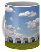 Five Sheds On The Alberta Prairie Coffee Mug
