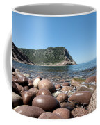 five steps to paradise - Giant pebbles is Menorca north shore close to Cala Pilar beach Coffee Mug