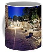 Five Well Square In Zadar Evening View Coffee Mug