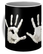 Five Years Old - Creative - Hands - First Painting Coffee Mug