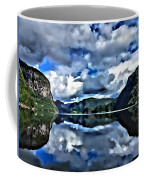Fjords Of Norway Coffee Mug