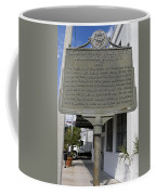 Fl-1020 Site Of First Ybor City Railroad Station 1887 Coffee Mug