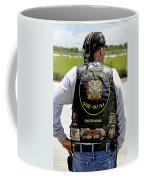 Fla Post 4143 Vfw Rider Color Usa Coffee Mug