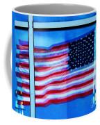 Flag Abstract Reflection Coffee Mug