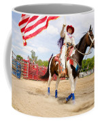 Flag Lady Coffee Mug