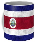 Flag Of Costa Rica Coffee Mug