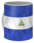 Flag Of Nicaragua Coffee Mug