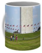 Flags Around Washington Coffee Mug