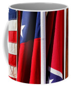 Flags Of The North And South Coffee Mug by Joe Kozlowski