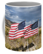 Flags On Antelope Island Coffee Mug