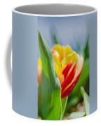 Flame Leaf Tulip Coffee Mug