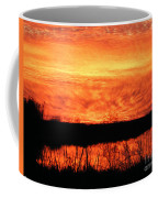 Flamed Sunset Coffee Mug