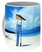 Flamenco Beach And Storm Coffee Mug