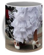 Flamenco Dancer In White Coffee Mug