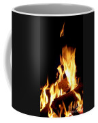 Flames In The Dark Coffee Mug