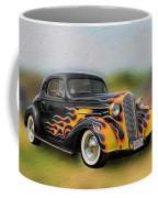 Flames On Wheels Coffee Mug