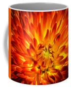 Flaming Dahlia - Paintography Coffee Mug
