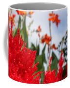 Flaming Feathered Flower Power Coffee Mug