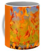 Flaming Indian Girl Sunset Coffee Mug