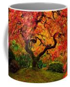 Flaming Maple Coffee Mug by Darren  White