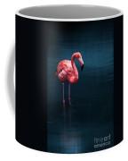 Flamingo - Blue Coffee Mug