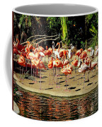 Flamingo Family Reunion Coffee Mug
