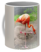 Flamingo Four Coffee Mug