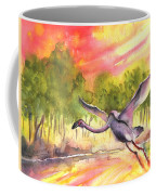 Flamingo In Alcazar De San Juan Coffee Mug