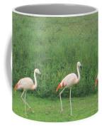 Flamingo March Coffee Mug