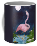 Flamingo Moon Frog Cathy Peek Tropical Bird Coffee Mug