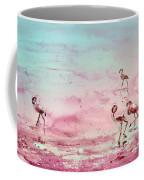 Flamingos In Camargue 03 Coffee Mug