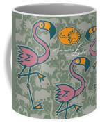 Flamingos Love Coffee Mug